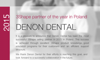 Certificate Denon Dental 2015 1